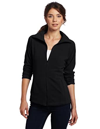 Columbia Women's Glacial Fleece III Full Zip Jacket, Black, Large
