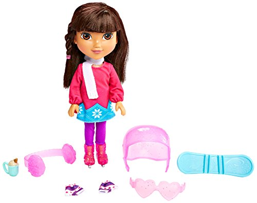 Fisher-Price Nickelodeon Dora and Friends Winter Theme Dora Figure