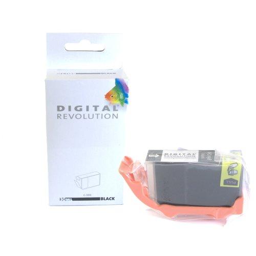 100 % REINIGUNG Druckerpatrone für Canon, ersetzt BCI-3 E BK Black, 30ml. Kompatible Druckertypen finden Sie unten in der Produktbeschreibung!