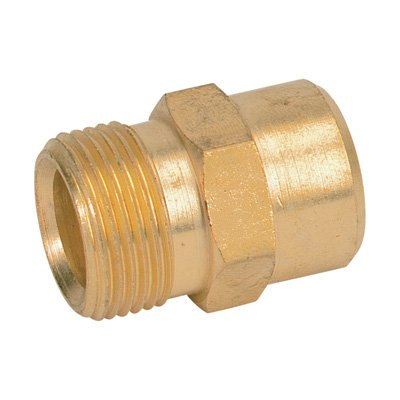 General Pump M22 Male x 1/4in. NPTF Brass Fitting, Model# 2510103