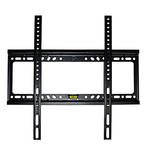 "Black 26-52"" Lcd Flat Panel Tv Wall Mount Rack Stand Bracket"