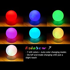#!Cheap Color Changing LED Ball Baby Kid Mood Lamp Night Light Children