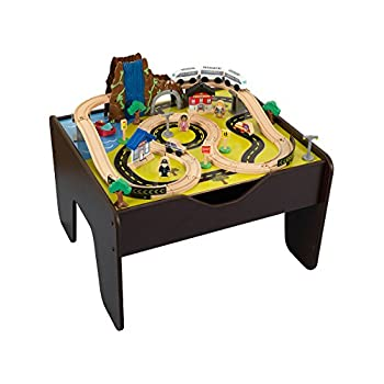 KidKraft 17996 Waterfall Rapids Train Set and Table