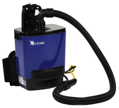 Nacecare Rsv200 Back Pack Vacuum, 2.5 Gallon Capacity, 1.6Hp, 114 Cfm Airflow, 42' Power Cord Length front-339287