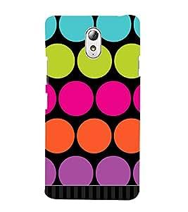 Big Dotted Pattern Cute Fashion 3D Hard Polycarbonate Designer Back Case Cover for Lenovo Vibe P1m