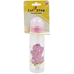 1st Step Baby Feeding Bottle 260ml - Pink, 260mL