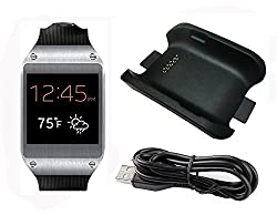 Mfeel Charging Dock Cradle Station Charger with Cable for Smart Watch Samsung Galaxy Gear Jet V700