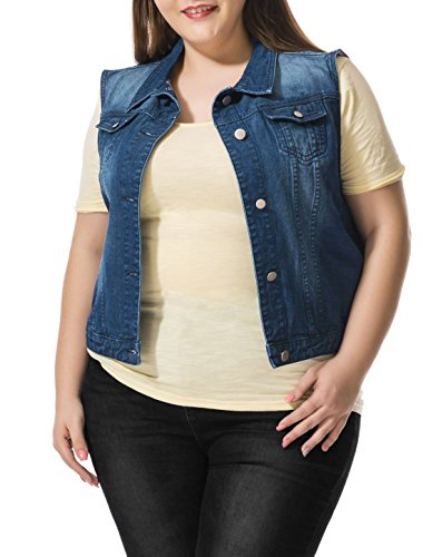 Allegra-K-Women-Plus-Size-Slim-Fit-Denim-Vest