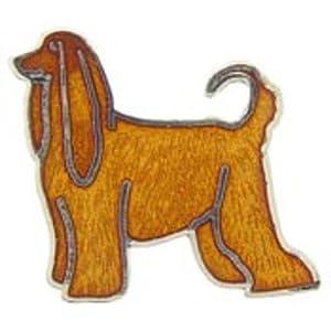 Afghan Hound Pin