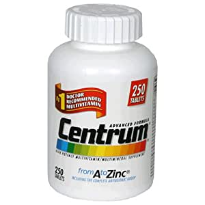 Centrum, 250-Count Bottle
