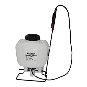 Tahoe Tool Company 50200202 Backpack Pump Sprayer with Adjustable Shoulder Straps, 4-Gallon