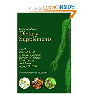 Encyclopedia of Dietary Supplements - Paul M. Coates