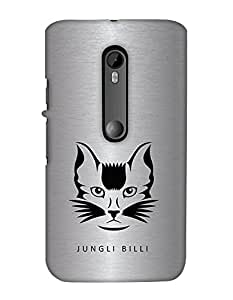 Print Haat Back Cover for Moto G Turbo (Multi-Color)