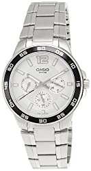 Casio Enticer White Dial Mens Watch - MTP-1300D-7A1VDF (A484)