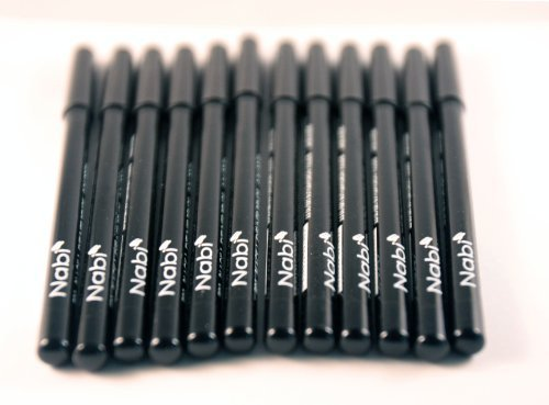 Nabi Cosmetics 12pcs Nabi black Eyeliner pencil