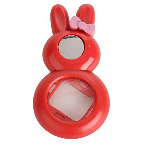 Woodmin Lapin Style Selfie-lentille Filtres pour Fujifilm Instax Mini 8 / 7S Caméra (Rouge)