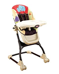 Fisher Price Luv U Zoo EZ Clean High Chair Baby