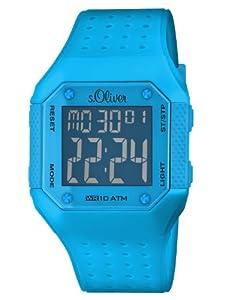 s.Oliver Unisex-Armbanduhr Digital Plastik SO-2439-PD