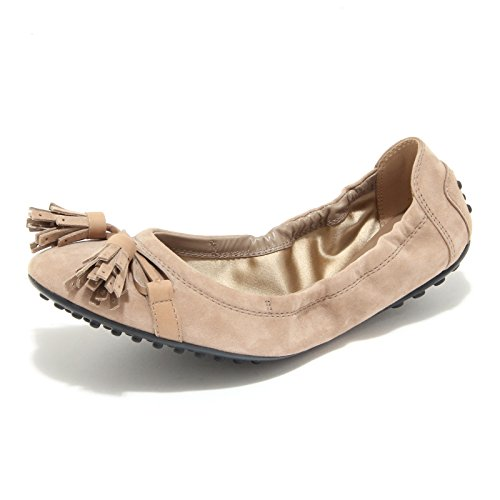 8040L ballerine donna TOD'S dee laccetto nappine scarpe shoes women [36.5]