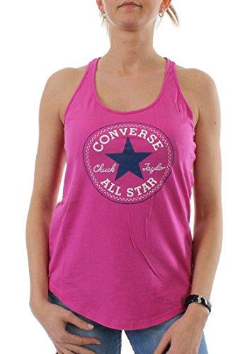 Converse - Canotta -  donna Raspberry L