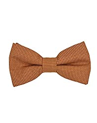 Tiekart Orange Impression Men Bow Ties