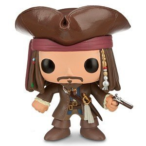 POP! Jack Sparrow Vinyl Figure by Funko (Disney # 48) - 1