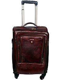 PE 100% Natural Genuine Soft Fine Mild Leather New Bag Luggage & Trolly Bag & Tote Bag - B06XXZN5LY
