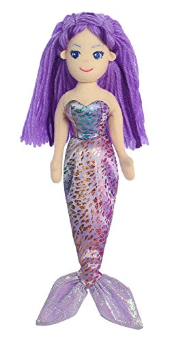 Aurora World Sea Sparkles Daphne Mermaid Plush