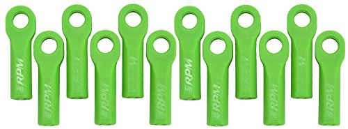 RPM Traxxas Long Rod Ends, Green