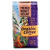 The Organic Coffee Company French Roast Decaf 12 oz Whole Bean