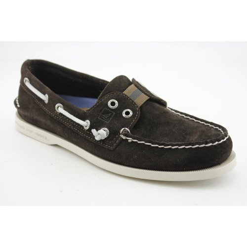 Sperry Top Sider A/O Mens Size 8.5 Brown Classic Suede Boat Shoes