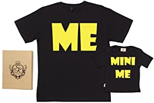 Spoilt Rotten - ME And MINI ME - 100% Bio-algodón - Dad & Son / Daughter T-Shirts
