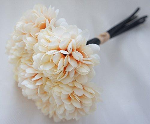 4th anniversary: Silk Chrysanthemum Ball Bouquet