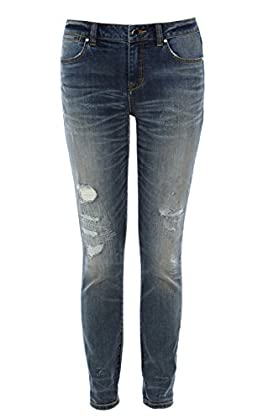 Ripped and Frayed Skinny Jean