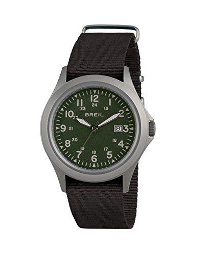 Watch Breil Army SS Man Steel TW1483 Militar Green Strap Black