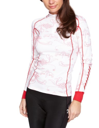 Helly Hansen Women's W HH Warm Freeze 1/2 Zip Thermal Baselayer Top - Hot Pink