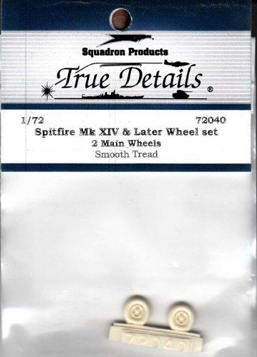 True Details Spitfire Mk XIV & Later Wheel Set