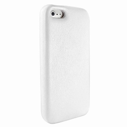 Best Price Apple iPhone 5 / 5S Piel Frama White FramaGrip Leather Cover