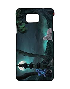 Mobifry Back case cover for Samsung Galaxy Alpha Mobile ( Printed design)