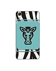 HTC Desire 728 Zebra-icons-label-01 Mobile Case (Limited Time Offers,Please Check the Details Below)