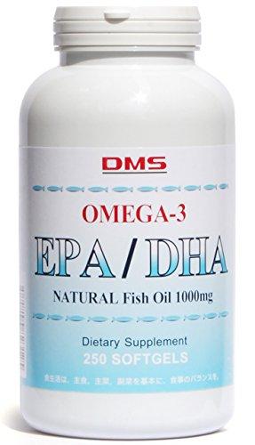 オメガ3 EPA & DHA 250粒 約125~250日分