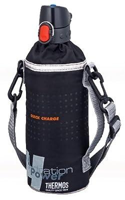 THERMOS ペットボトルキャップ&クーラー (500mlペットボトル用) ブラック RCT-PC BK