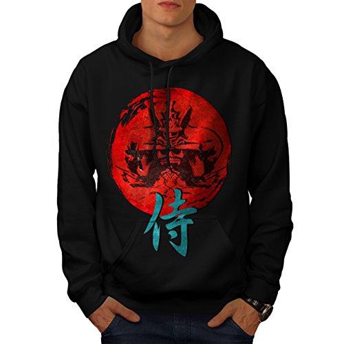 japonais-rouge-symbole-asiatique-homme-nouveau-noir-xl-capuchon-wellcoda