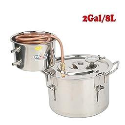 Tengchang 2 Gal Alcohol Distiller Moonshine Ethanol Still Spirits Boiler