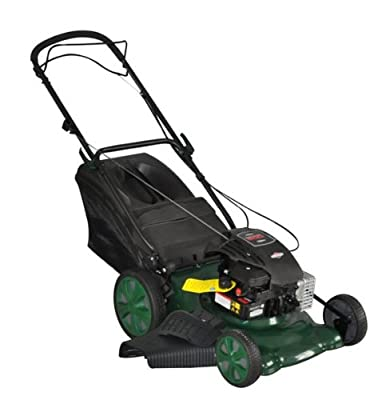 Webb 18in High Wheel Steel Deck Petrol Lawnmower