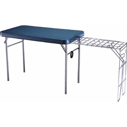 Lifetime Camp Table with Stove Rack
