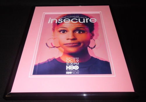 insecure-2016-hbo-framed-11x14-original-advertisement-issa-rae