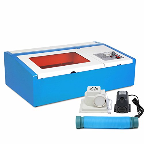 CNCShop Laser Engraving Machine Laser Cutting Machine Co2 Laser Engraver 40W Carving Tools Artwork Milling Woodworking (40W) (Laser Cutting Machine Acrylic compare prices)