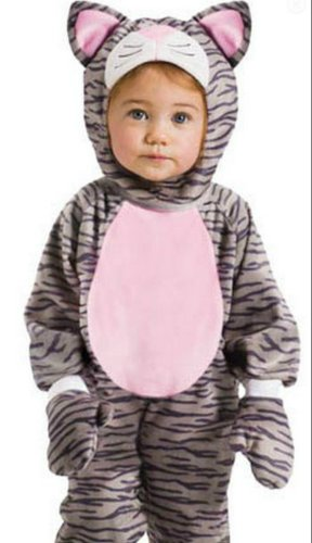 Grey Stripe Kitten Toddler Costume 12M-24M - Toddler Halloween Costume