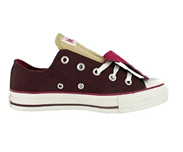 76dce2051acc65 Converse Men s All Star Chuck Taylor Double Tongue Ox Casual Shoes ...
